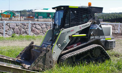 GPS equipment tracking for construction helped recover a stolen asset for Earthworx