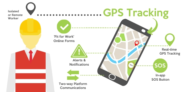 Improve worker safety with gps tracking