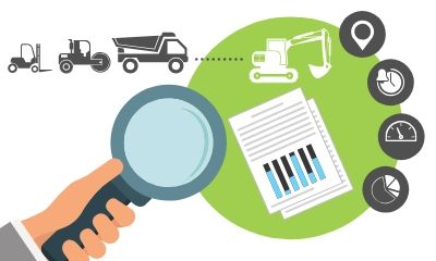understanding asset utilisation using gps fleet management software illustration