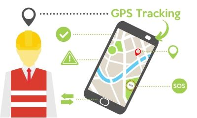 Field service management software improves worker safety with gps tracking